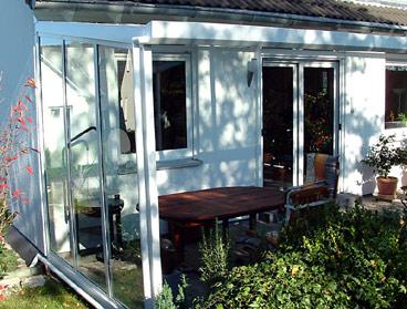 alu terrassendach de terrassen berdachung aluminium mit vsg ebay. Black Bedroom Furniture Sets. Home Design Ideas