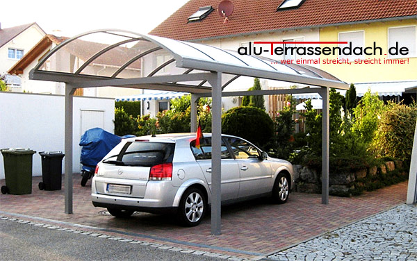 alu terrassendach de carport aus aluminium alu breite 3 0 m tiefe 5 0 m ebay. Black Bedroom Furniture Sets. Home Design Ideas